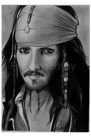 Johnny Depp by FloBrit
